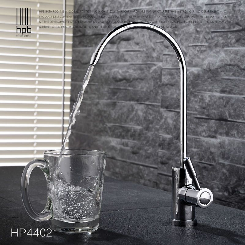 HPB Brass Lead Free Cold Water Kitchen Faucet Drinking Water Filter Tap  Purified Water Spout