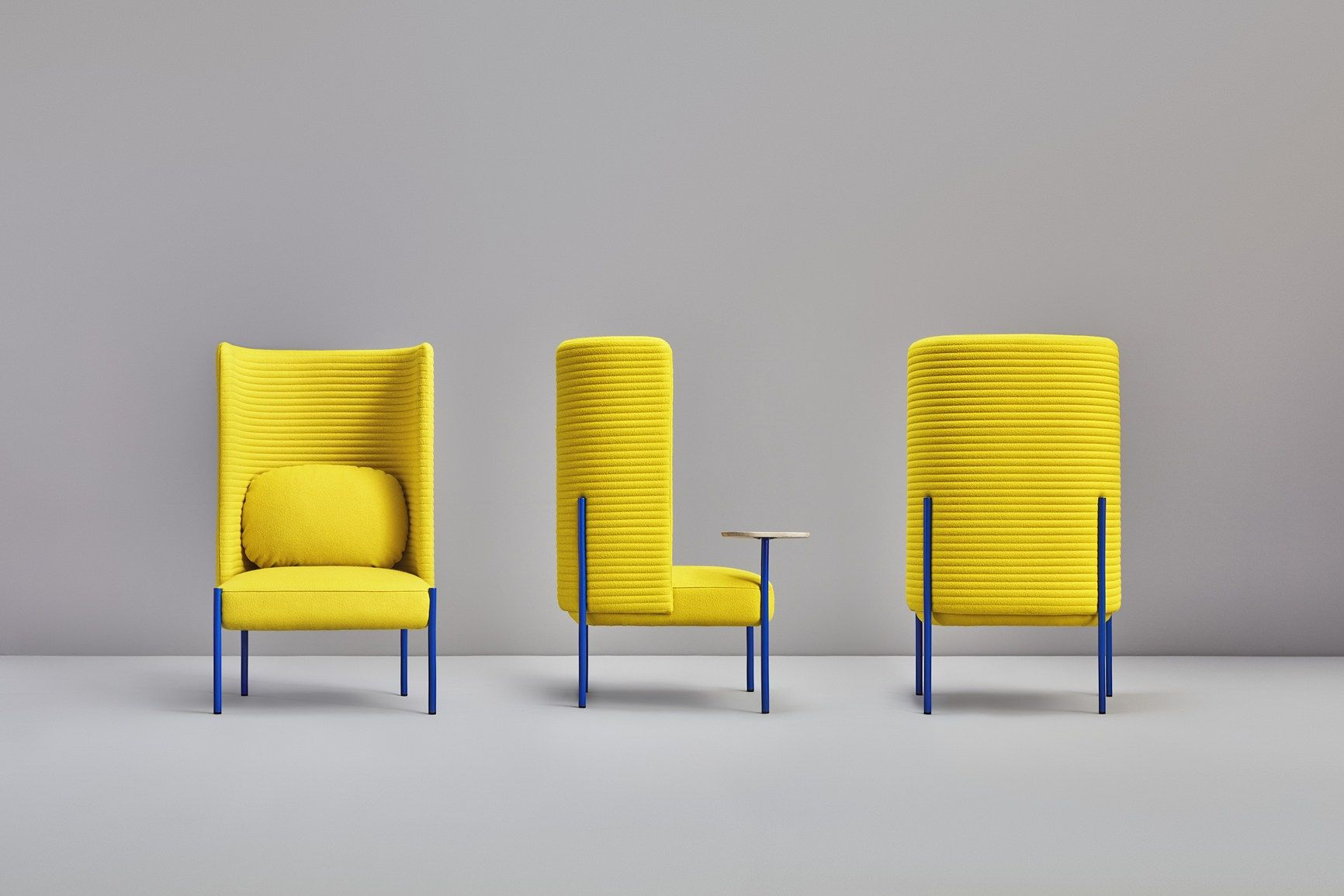 Ara, a cozy and colourful shell  Fabric easy chair, Furniture