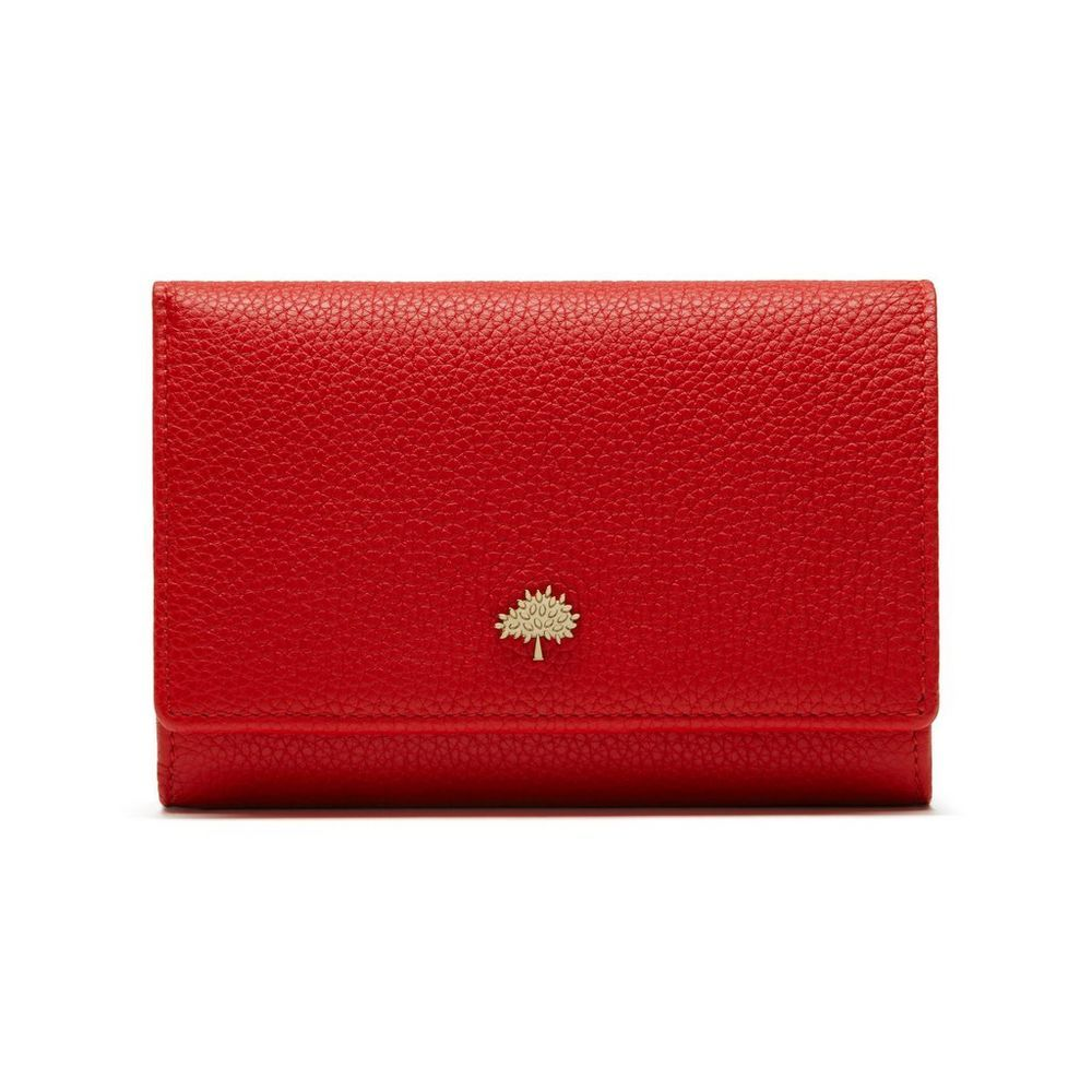 4981187af683 Mulberry - Tree French Purse in Fiery Spritz Small Classic Grain ...