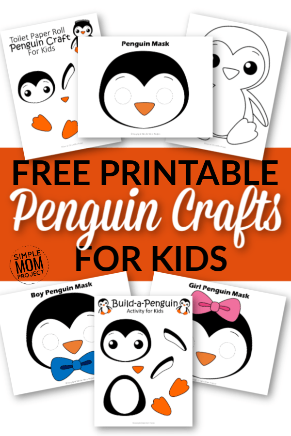 Penguin Crafts for Kids of All Ages - Simple Mom Project #penguincraft