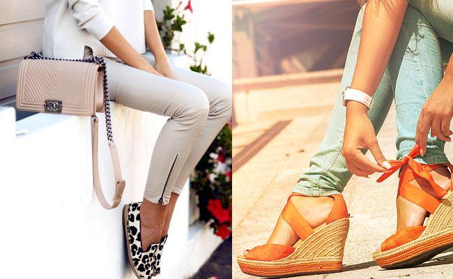 Espadryle Damskie Modne Buty Na Lato Fashyou Pl Fashion Capri Pants Pants