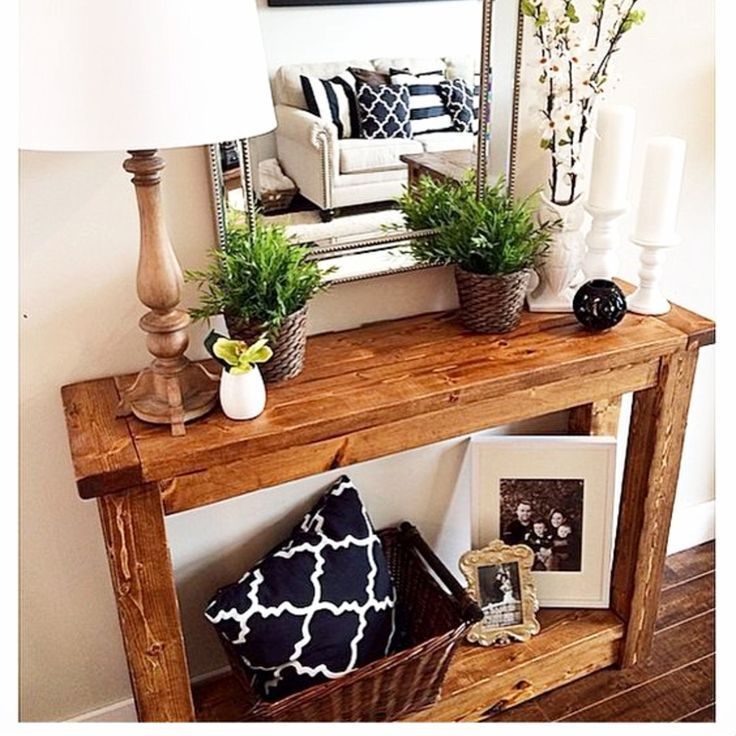 25 Editorial Worthy Entry Table Ideas Designed With Every: DIY Entryway Ideas For Small Foyers And Apartment