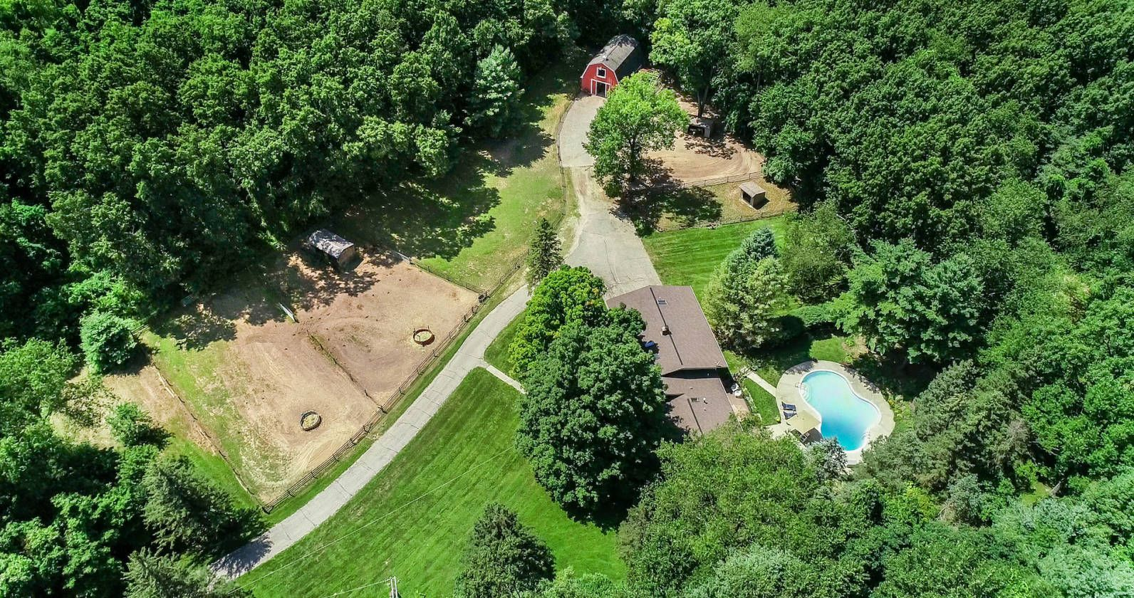 Horse Property For Sale In Oakland County Michigan Stunning 6
