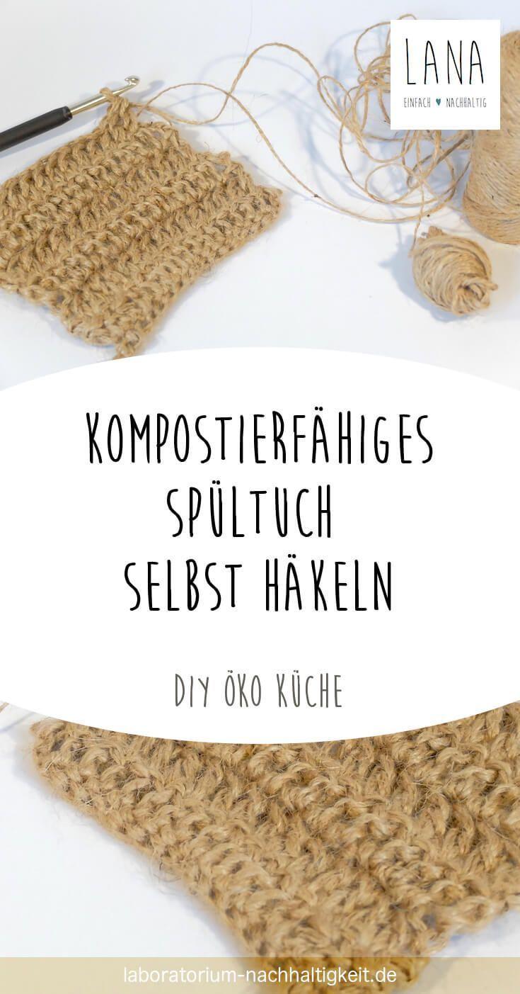 Crochet torchon compostable vous-même Vivez durablement   – Plastikfrei Leben