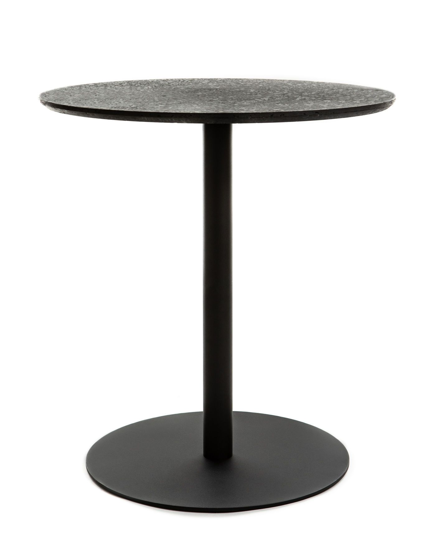 Round Table Terrazzo By Xl Boom Black Made In Design Uk