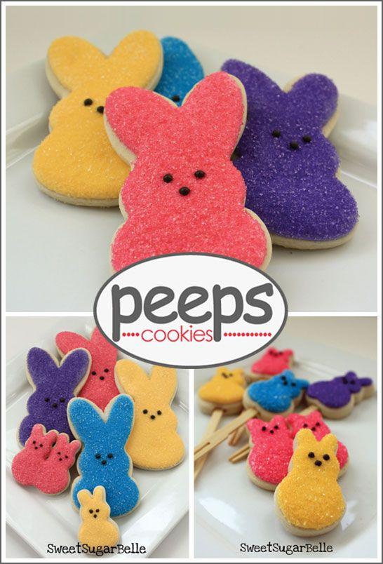 My favorite Easter treats in cookie form. Gotta love it!