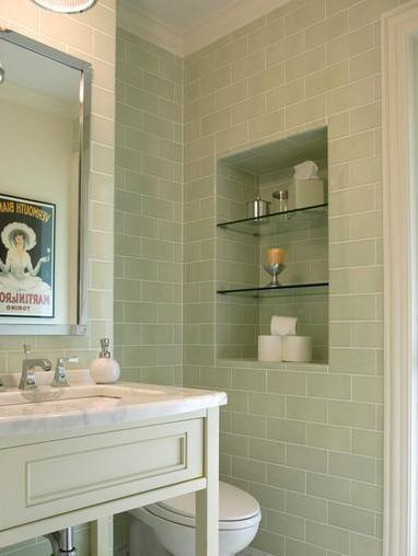 Luxury Green Bathroom Wall Tiles
