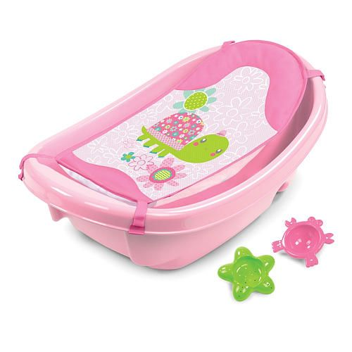 Babies R Us Sea Creatures Step By Step Tub - Pink | baby baby ...