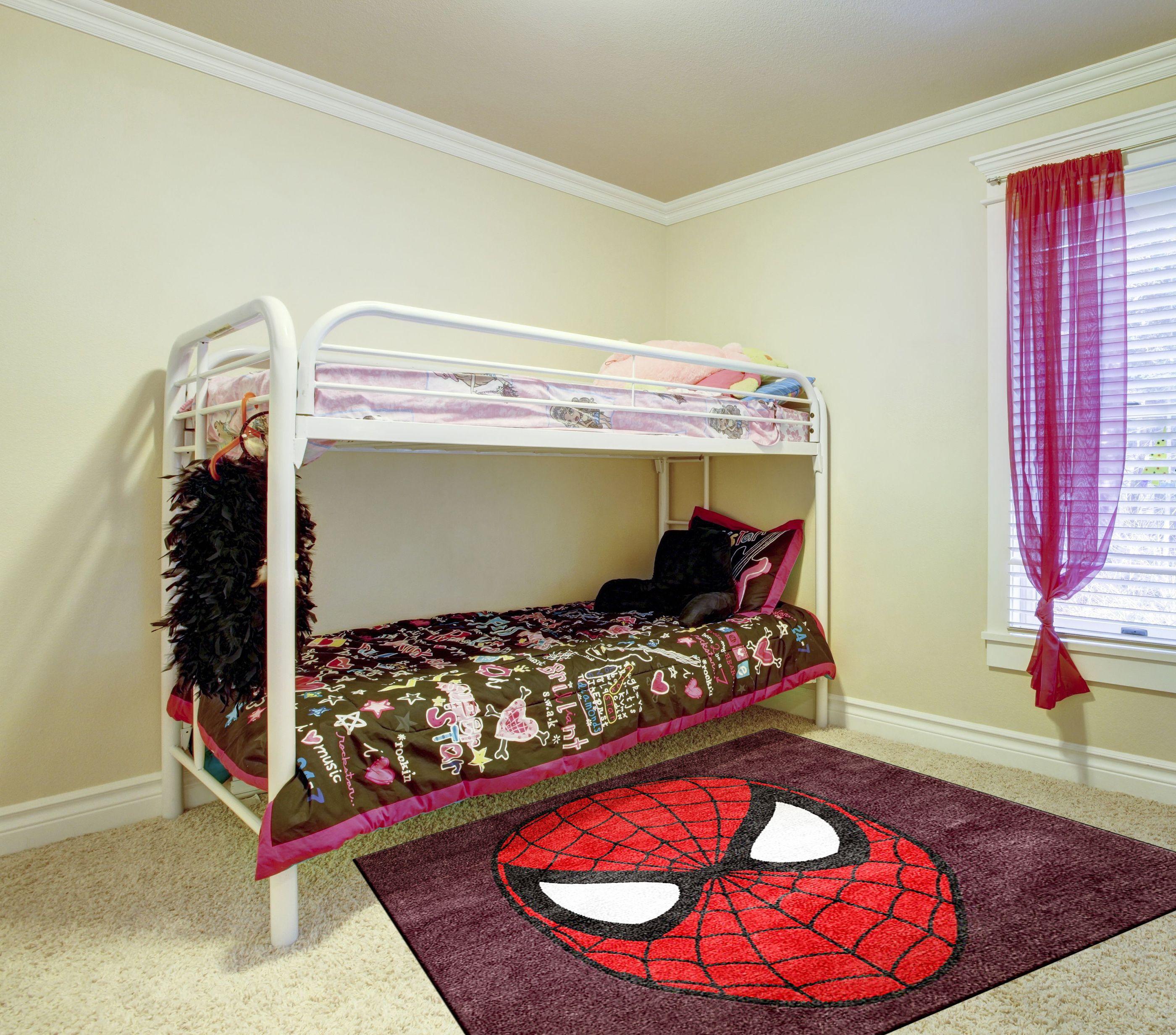 spiderman rugs bedroom