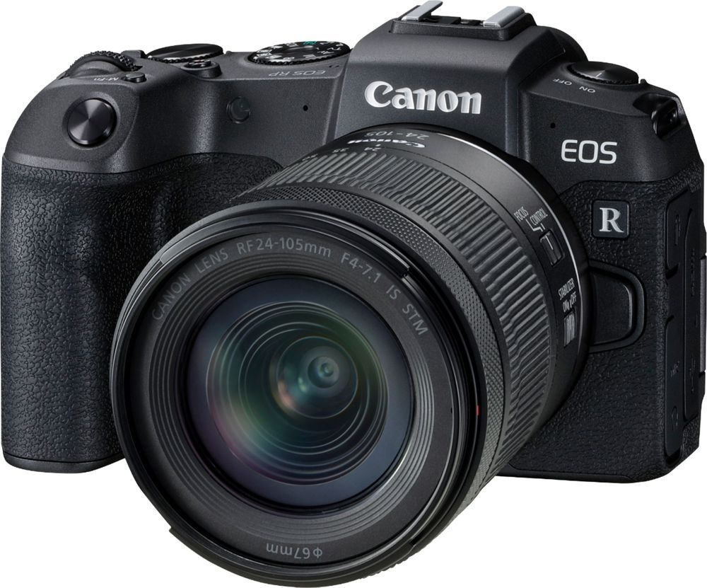 The EOS RP and RF24-105mm F4-7.1 IS STM lens kit is a compact and lightweight RF-series kit that offers a versatile zoom range, capturing different subjects with ease. For macro enthusiasts, the EOS RP and RF24-105mm F4-7.1 IS STM lens kit is particularly advantageous, offering an impressive maximum magnification of 0.5x using Center Macro Focus - helping you snap photos from as close as one inch away. Your images and videos will remain clear and steady, too, thanks to a leadscrew-type STM motor