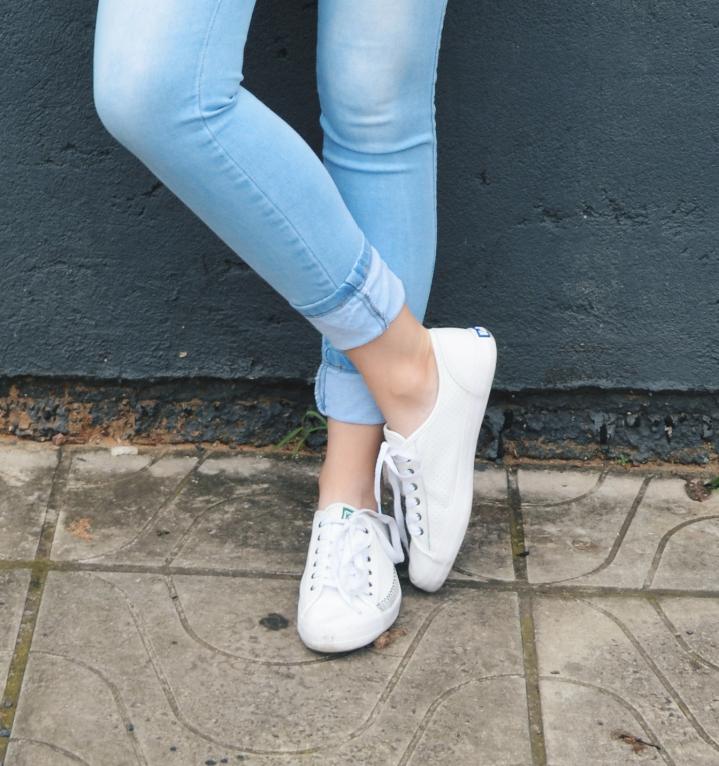 Jeans e tênis, Keds, Look com tenis