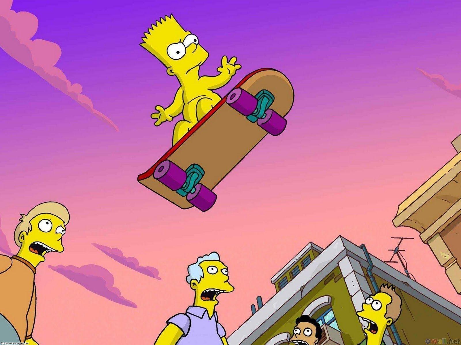 Homer Simpson Wallpaper Mac Wallpaper 1680 1050 Bart Simpson