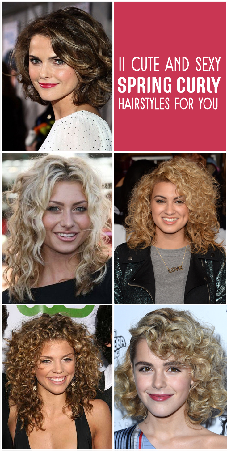 11 cute and sexy spring curly hairstyles for you | curly hairstyles