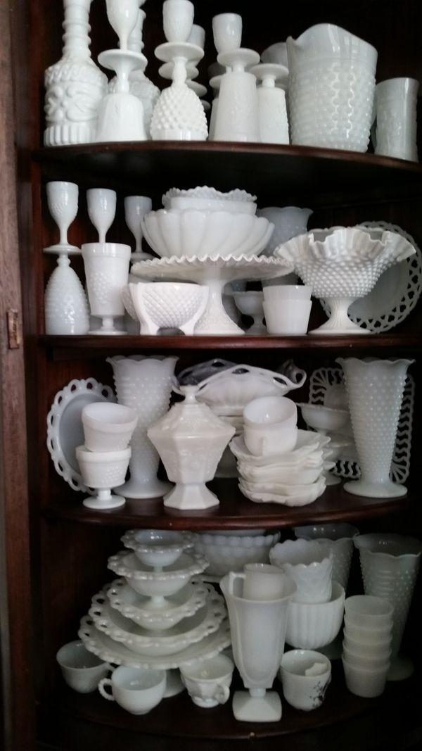Antique Spotlight: Milk Glass - Dusty Old Thing