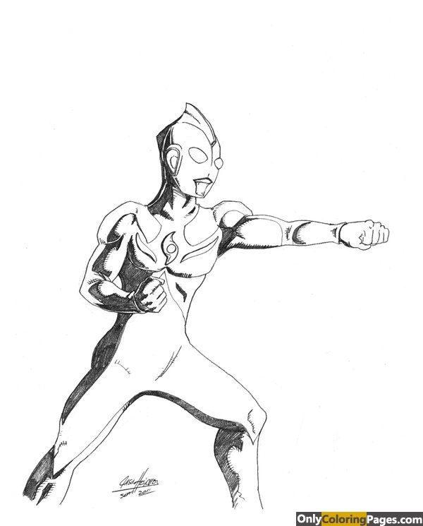 Ultraman Cosmos Coloring Pages Only Coloring Pages Cosmos