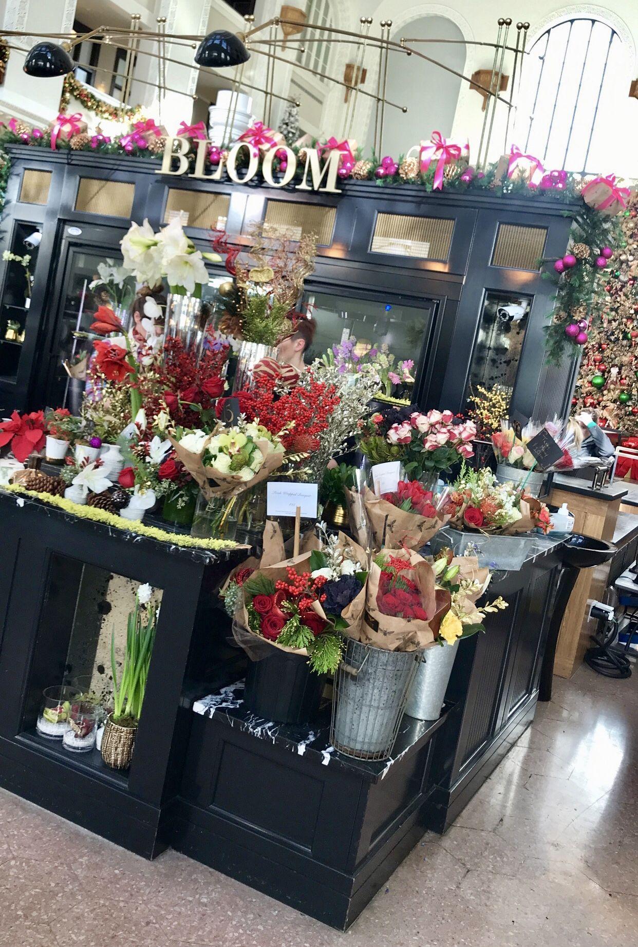 Denver union station flower shop bloom https