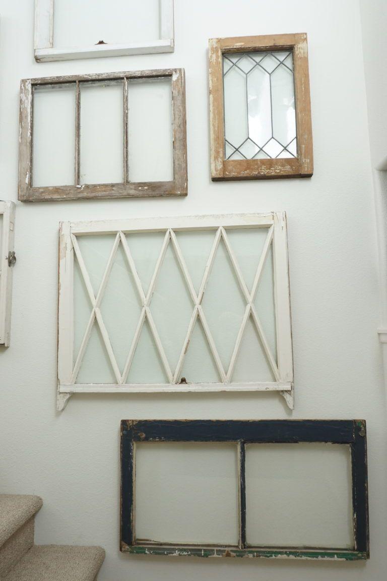 How To Hang Vintage Windows Vintage Windows Hanging Windows