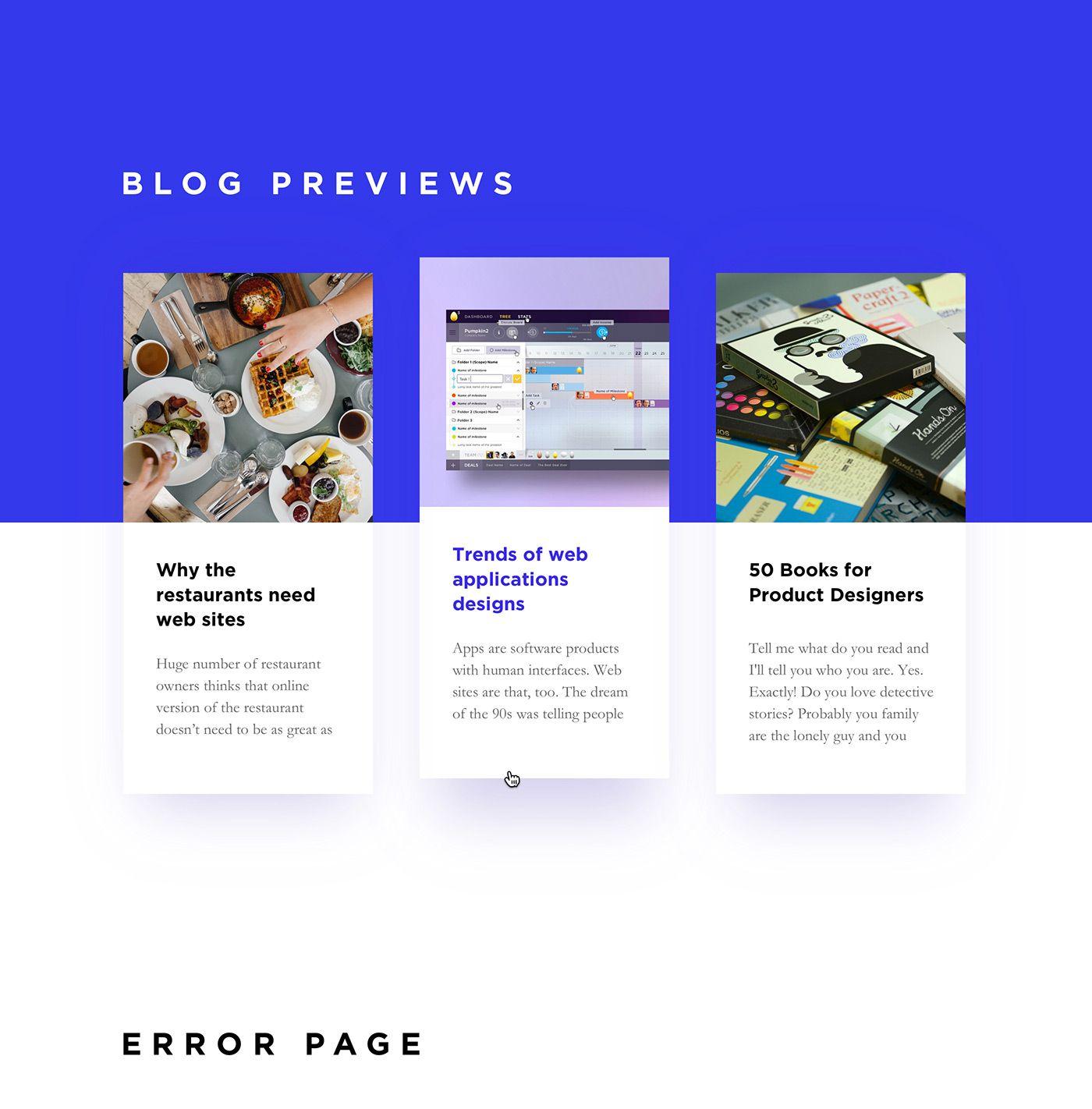 Meat Agency Web Site On Behance Web Design Agency Web Design Tips Modern Web Design