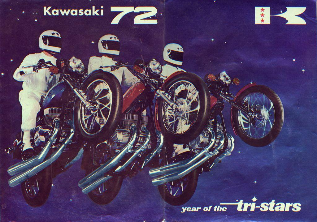 https://flic.kr/p/bbpJnk | Kawasaki 1972 sales brochure