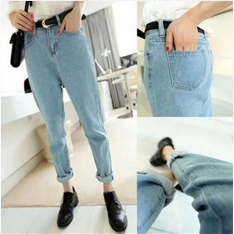New Arrival Boyfriend Jeans For Women Fashion Loose Jeans Pants BF Style  Plus Size Harem Jeans 5b28eb4dc219