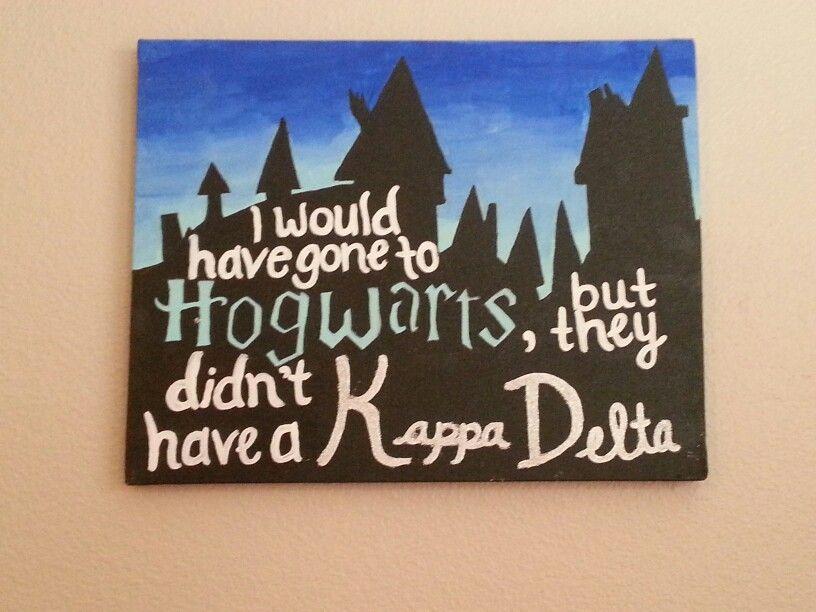 Harry Potter Kappa Delta Canvas Art By Marisa Nowicki Kappa
