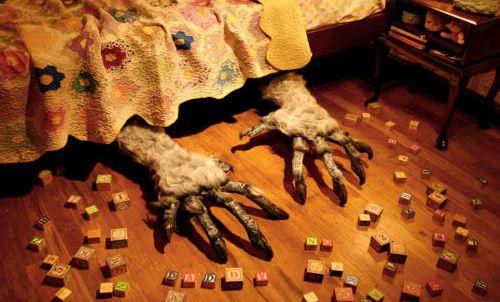 Resultado de imagen de monster under bed
