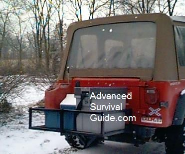 hitch mount cargo carrier plans