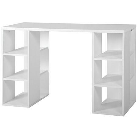 Exceptionnel Solano Storage Desk White