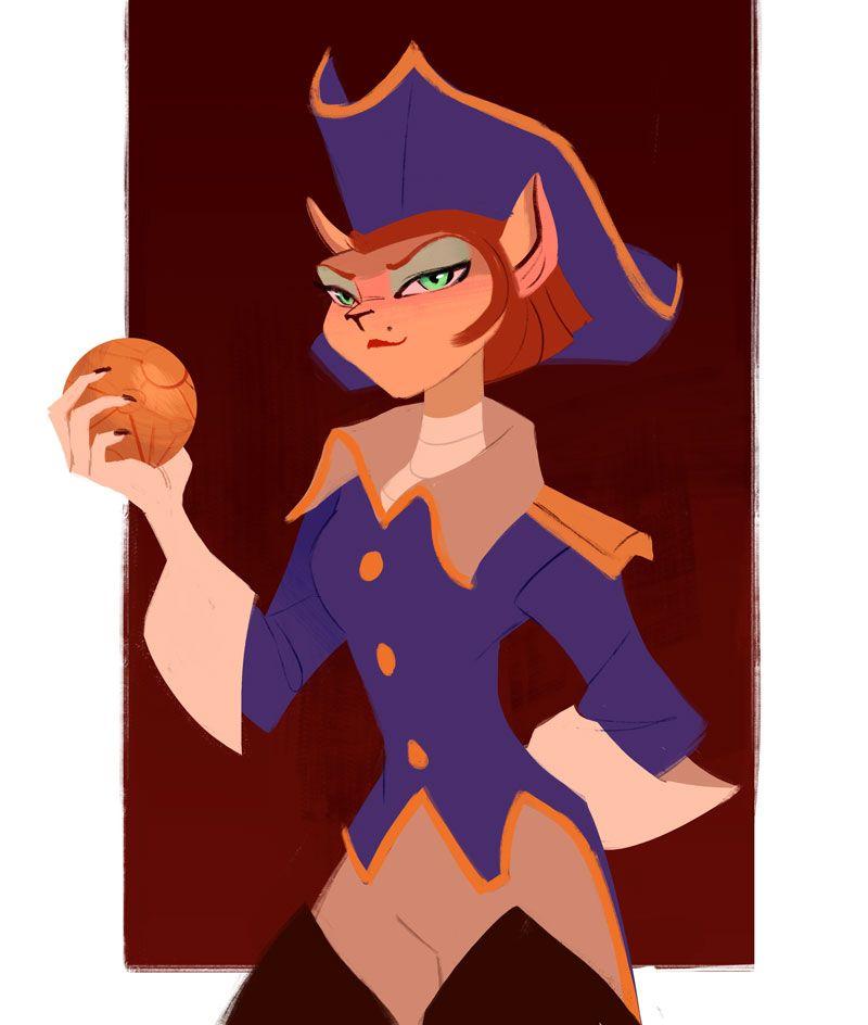 treasure planet captain amelia - 800×944