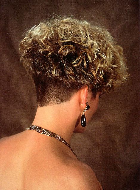 super curly wedge style!