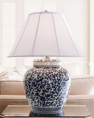Lunch Latte Blue White Patterns Blue And White Lamp Blue And White Blue Lamp