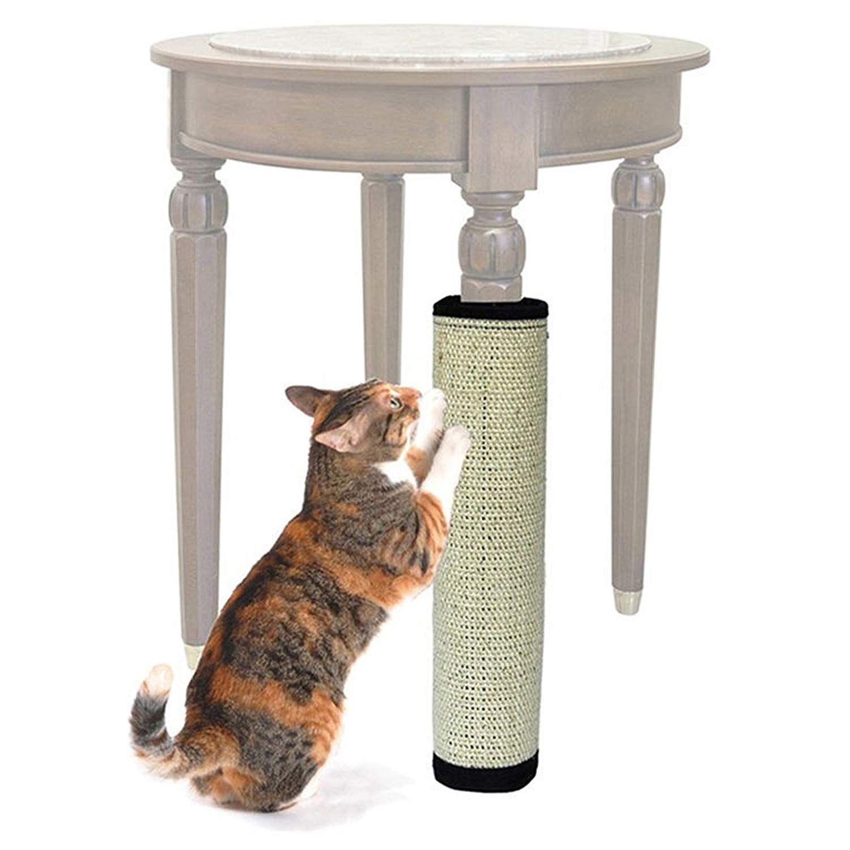 Cat Kitten Scratching Pad Mat Board Sisal Scratcher Post Pole Toy for Cats Hot