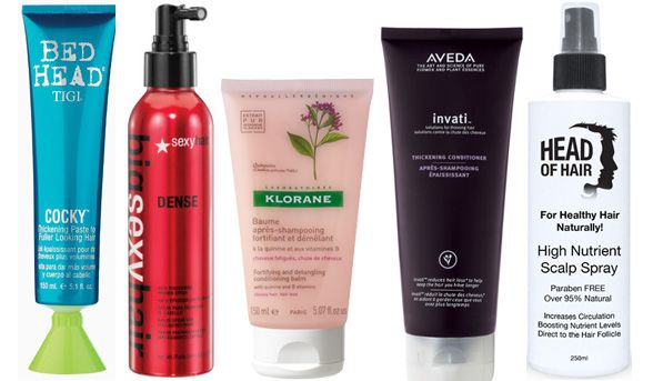 10 Of The Best Hair Thickening Products Hair Thickening Cool Hairstyles Hair Treatment Mask