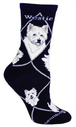 Shoe size 6-8.5 Wheel House Designs Cavalier King Charles Womens Argyle Socks