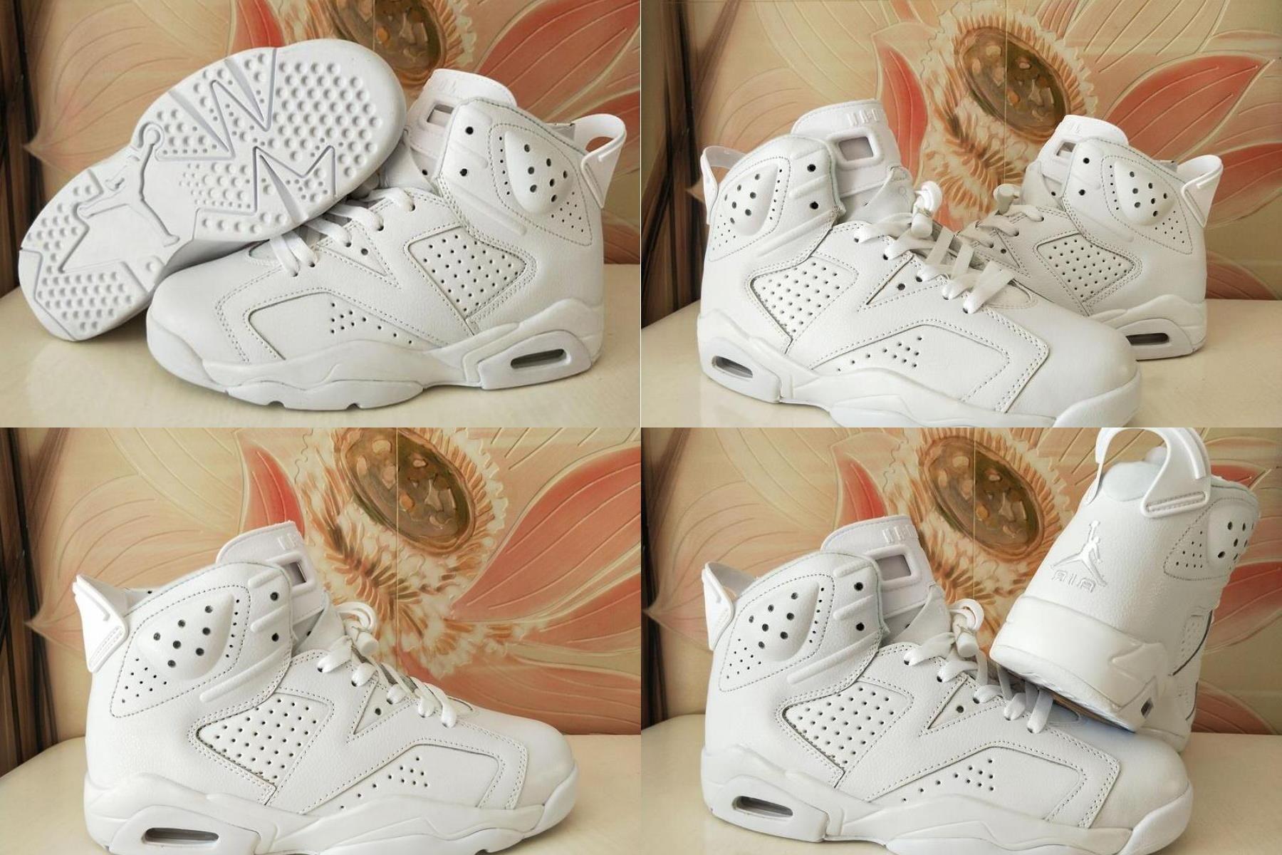 jordan 6 triple white