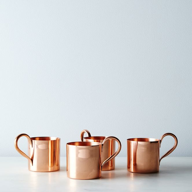 Copper Moscow Mule Mugs Set Of 4 In 2020 Moscow Mule Copper Moscow Mule Mugs Copper Moscow Mule Mugs