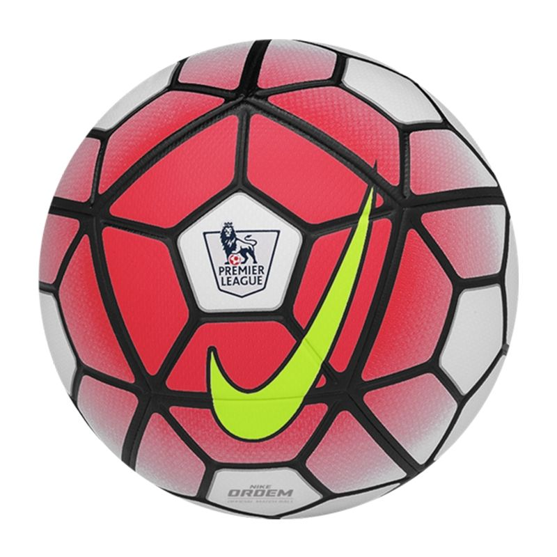 Nike Ordem 3 Epl Soccer Ball White Bright Crimson Black Volt Sc2717 100 Nike Soccer Ball Soccercorner Com Nike Soccer Ball Soccer Ball Football Ball