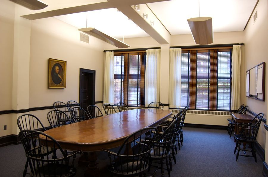 Classical Style Meeting Room Office Design Office Design Office - Old conference table