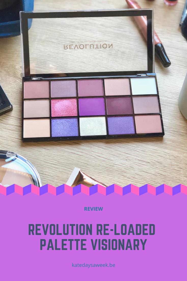 Makeup Revolution (Revolution Beauty) Visionary eyeshadow