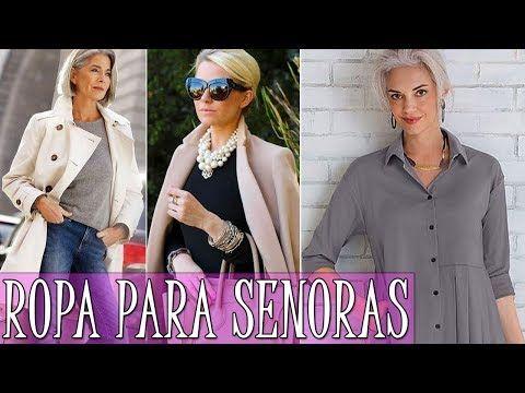 86bbbbd5294 ROPA PARA SEÑORAS DE 50 AÑOS 2018 | ROPA DE MODA PARA SEÑORAS 2017-2018 | MODA  PARA MUJER TV