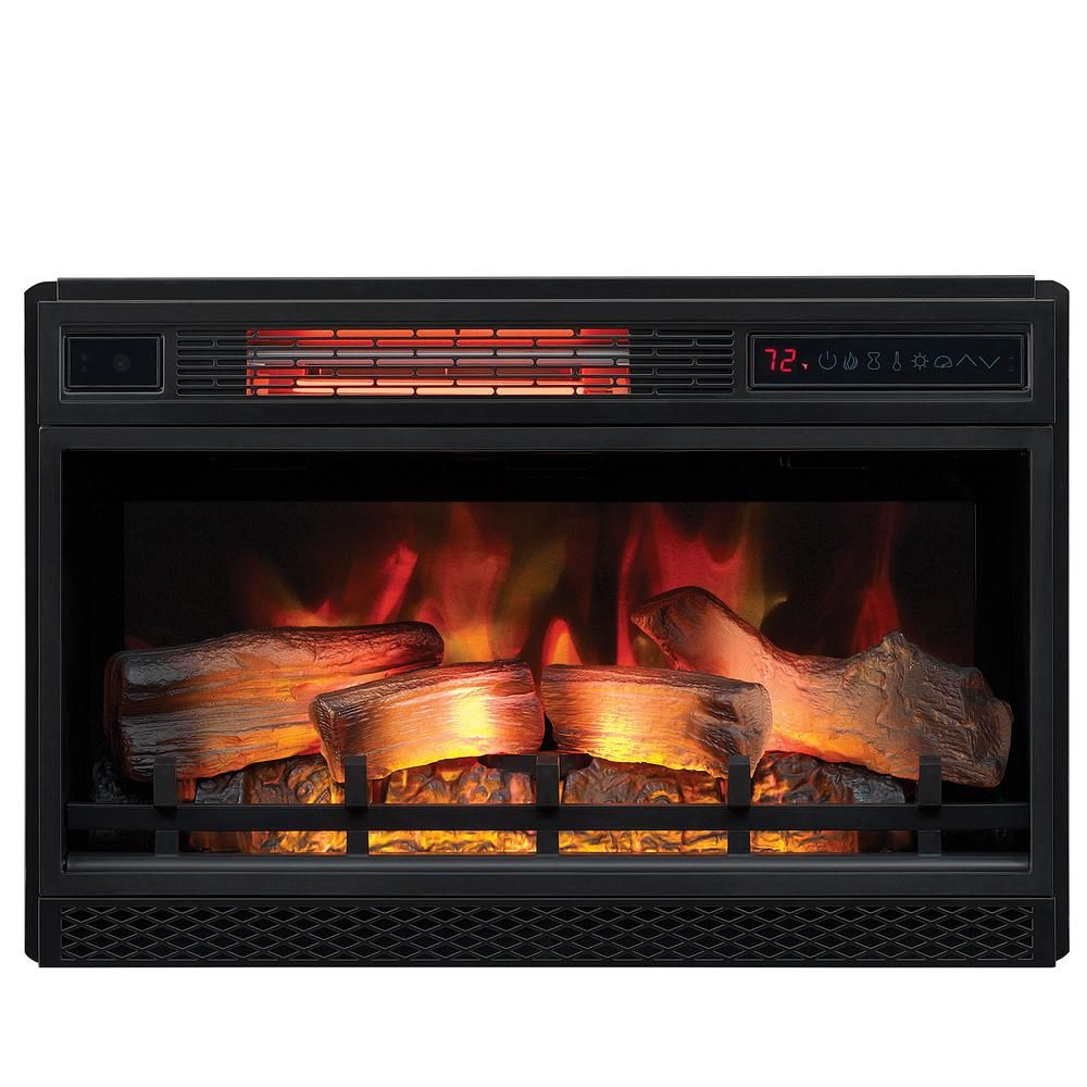 Classic Flame 26 In Ventless Infrared Electric Fireplace Insert