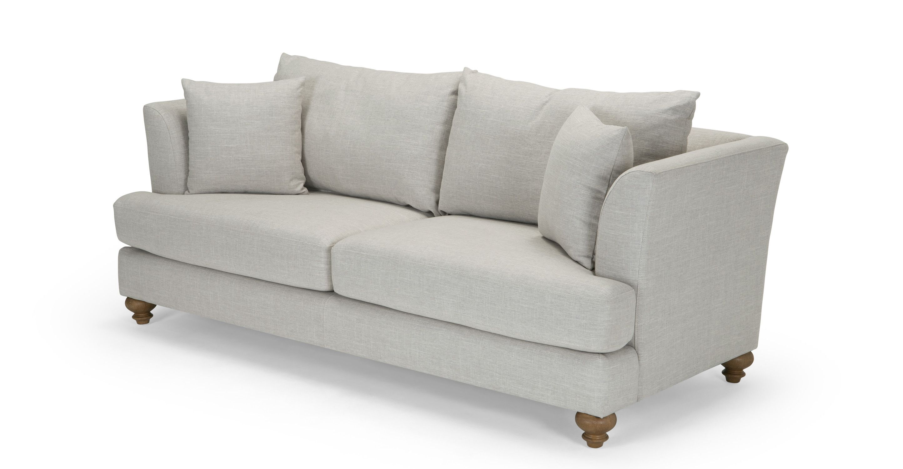 Ordinaire Elliott 3 Seater Sofa, Chic Grey