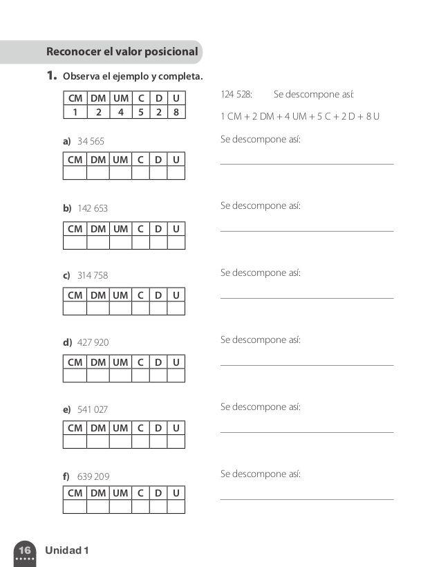 Cuaderno de ejercicios 4º, Santillana | Matemáticas | Pinterest ...