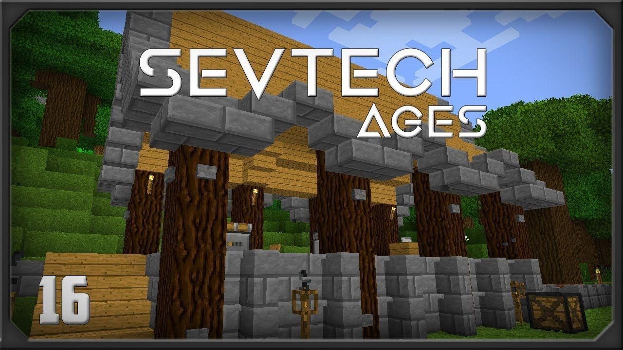 Sevtech Ages EP16 Better with mods Stoked Crucible Kiln Filtered