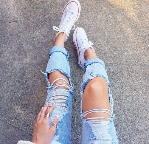 Jeans Rotos Tumblr