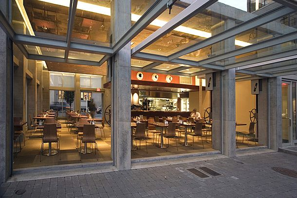 Restaurant Facade isabel restaurant (doorsturner exhibits) | glazed | pinterest