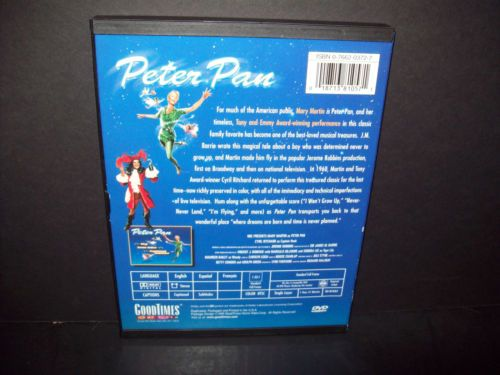 Buy Peter Pan Original 1955 Telecast Mary Martin DVD Used Very Good At Online Store