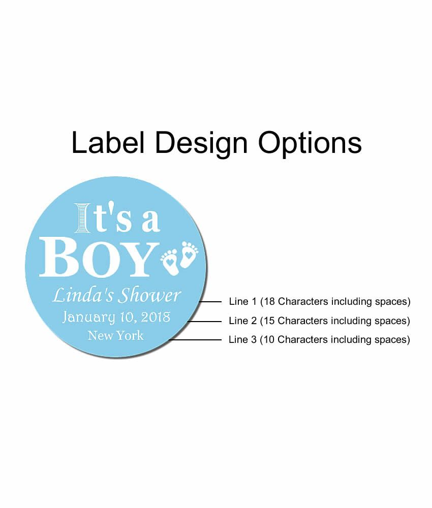 Unique Baby Boy Shower Favors, Lip Balms – FREE Assembly in