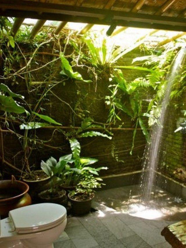 25 Amazing Garden Bathroom Ideas