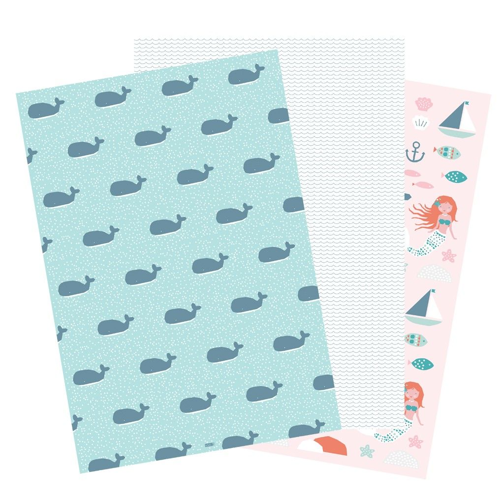 Wrapping paper underthesea lot ev pinterest
